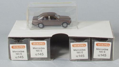 Wiking 145/3 Mercedes 190 E metallic braunviolett
