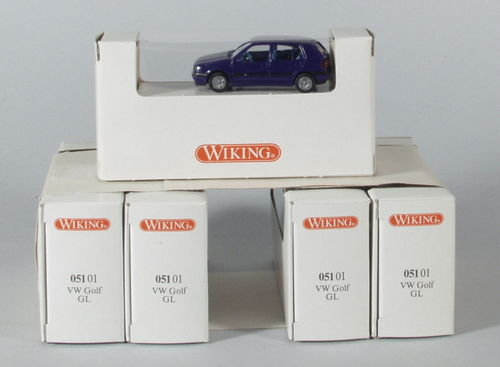 Wiking 51/1 VW Golf dunkelblau