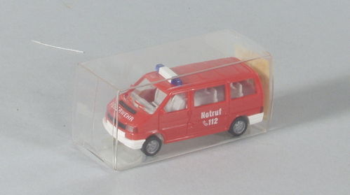 Wiking 601/2A VW Caravelle Feuerwehr