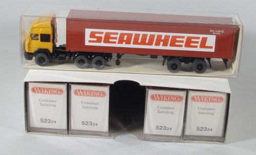 "Wiking 523/21 Iveco Container-Sattelzug ""Seawheel"""