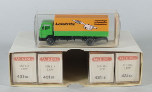 "Wiking 431/6 MB 814 LKW ""Leistritz"""