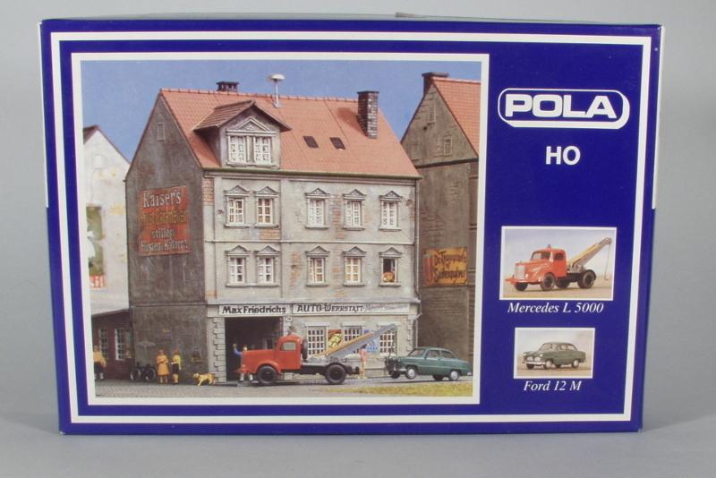 Pola 165 Stadthaus Mit Hinterhof Werkstatt Inkl Wiking Modelle