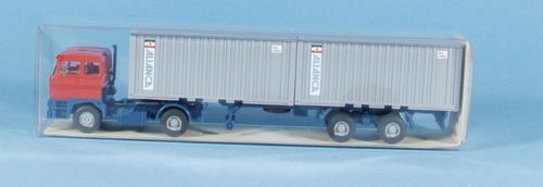 "Wiking 524/10 DAF 3300 Container Sattelzug ""Alianca"""