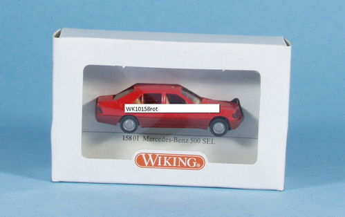 Wiking 158/1A MB 500 SEL rot