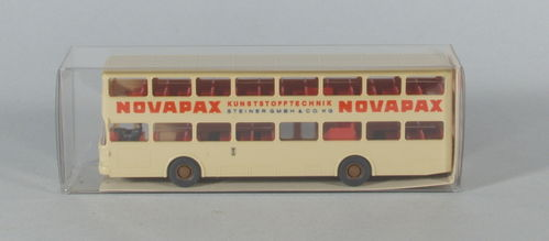 "Wiking 730/13 MAN SD 200 Berlin Bus ""Novapax"""