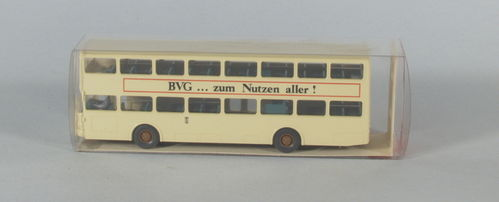 "Wiking 730/10 MAN SD 200 Berlin Bus ""BVG"""