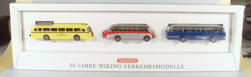 Wiking 5000/9 Buspackung 50 Jahre Wiking