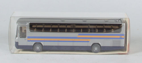 "Wiking 712/1 MB RHD Reisebus ""grau orange"""